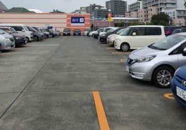 東京あそびマーレ・駐車場