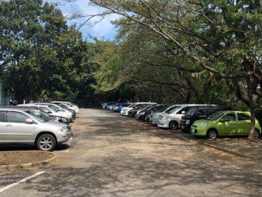 引地台公園・無料の駐車場