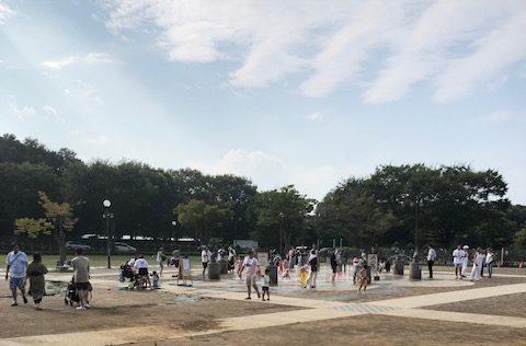 麻溝公園 水の広場