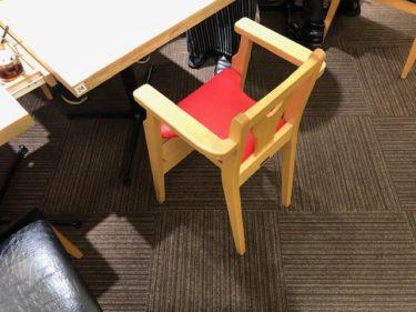 大阪王将の子供椅子