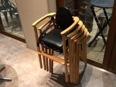 ロイヤルガーデンカフェの子供椅子