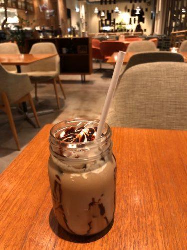 ロイヤルガーデンカフェのアイスカフェモカ