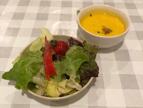 シャンティ食堂のサラダ2