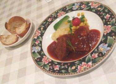 シャンティ食堂 やわらか豚肉のバーベキューソース風