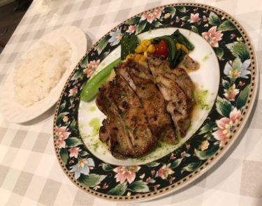 シャンティ食堂 チキン系の料理