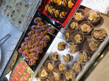 ブッフェ・ザ・ヴィラのケーキコーナー