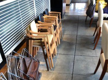 ブッフェ・ザ・ヴィラの子供椅子