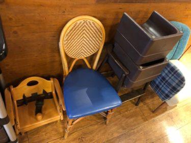バンビーノの子供椅子