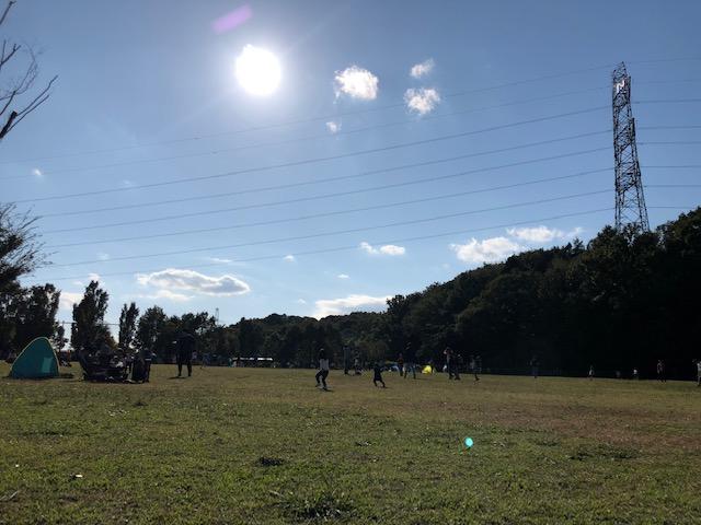 玄海田公園の草地広場2