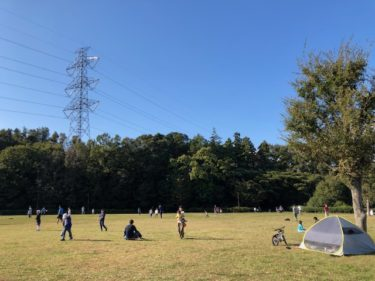 玄海田公園の草地広場1