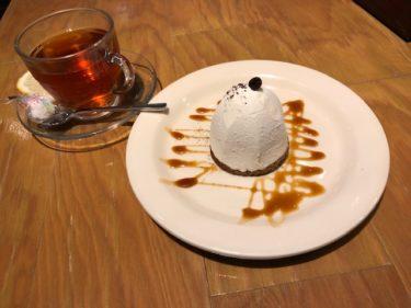 ハンズカフェの紅茶とデザート