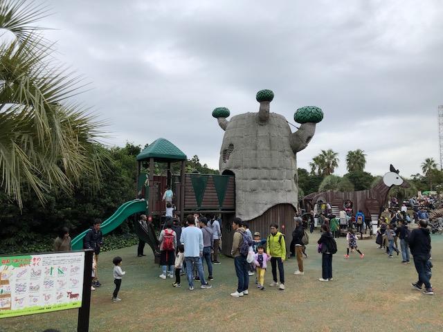 ズーラシア 遊具広場