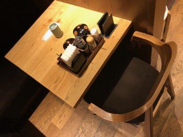 まい泉 テーブル席