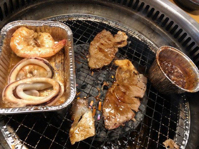 焼肉キングの食事1