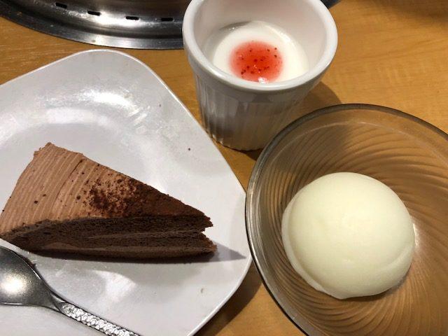 焼肉きんぐのデザート2