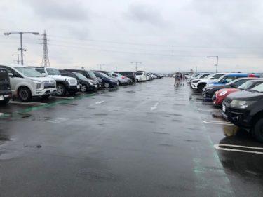 コストコ・駐車場