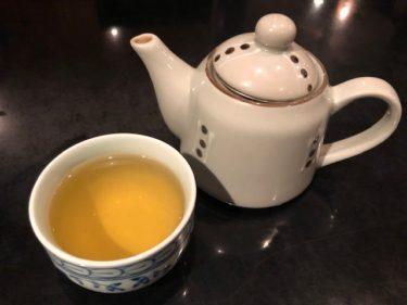 鉄龍山・お茶のサービス