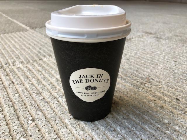 JACK IN THE DONUTS カフェオレ