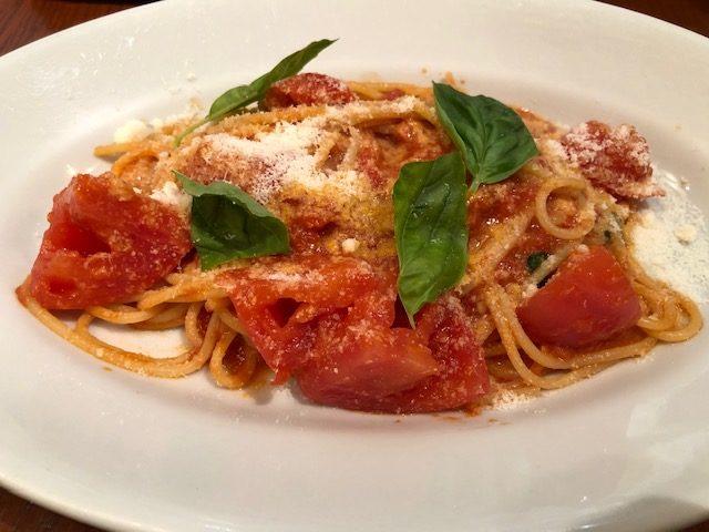 ヴォメロ バジリコのスパゲティ