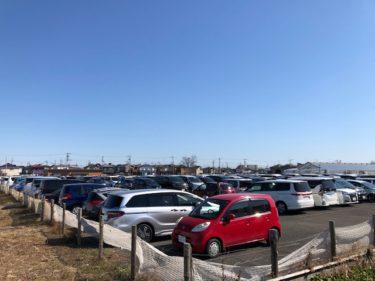 大和ゆとりの森 駐車場 臨時P(南側)