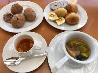 トスカ パン、本日のスープ、アーリオ・オーリオ