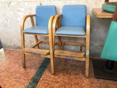 モスバーガー子供椅子