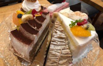 タクカフェ 種類豊富なケーキ1