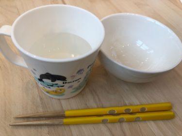タニタカフェの子供取皿