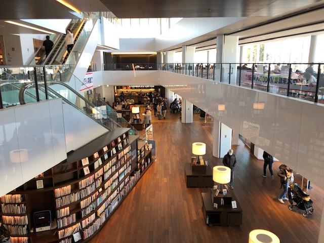 シリウス1階の施設風景
