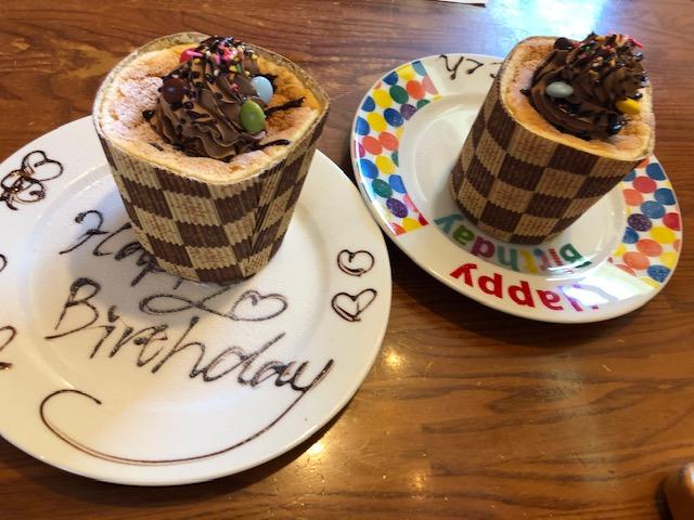 ブロンコビリー・お誕生日ケーキ(子供と大人)
