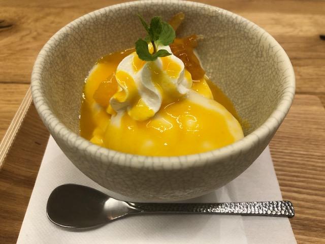 こなな・柚子オレンジの豆乳プリン