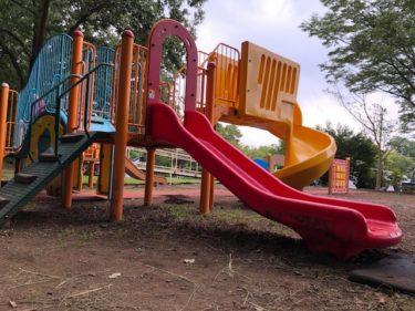 子供自然公園・第2駐車場前の遊具広場2