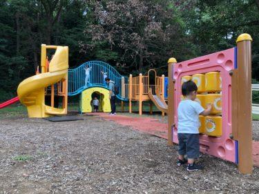 子供自然公園・第2駐車場前の遊具広場1