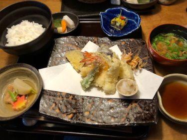 九つ井・天ぷら御膳