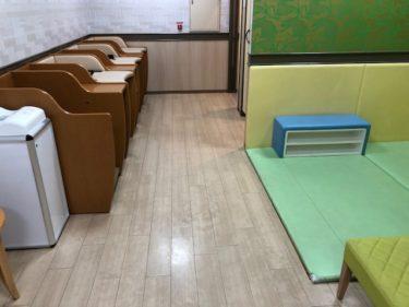 青葉台東急スクエア・ベビールーム(おむつ交換台)