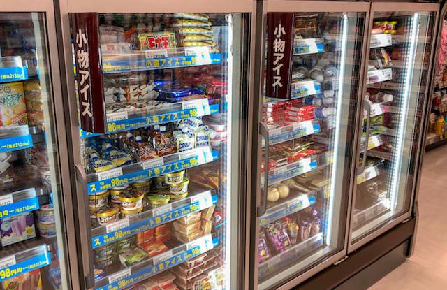 生鮮市場・アイスコーナー