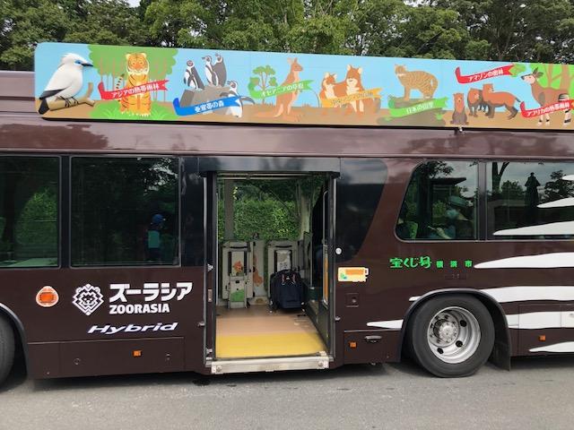 ズーラシア・園内バス