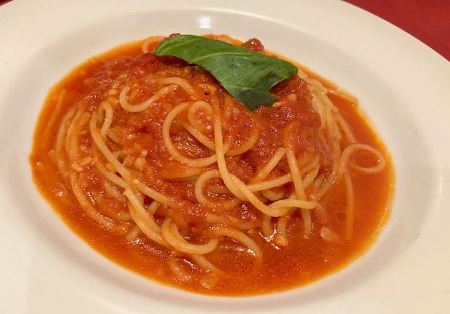 グラッチェガーデンズ・にんにくとトマトのスパゲッティ