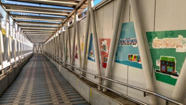 電車とバスの博物館・通路
