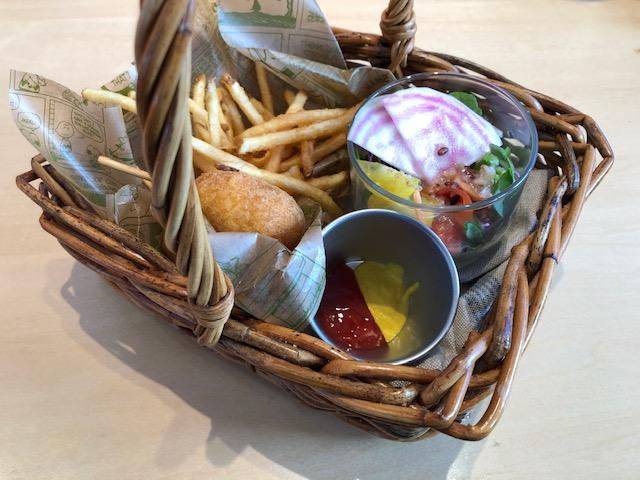 ピーナッツカフェ・ピクニックバスケットプレート(ミートボール)