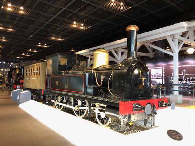 鉄道博物館・1号機関車