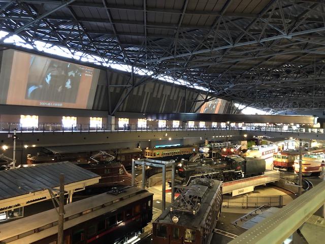 鉄道博物館・車両ステーション1
