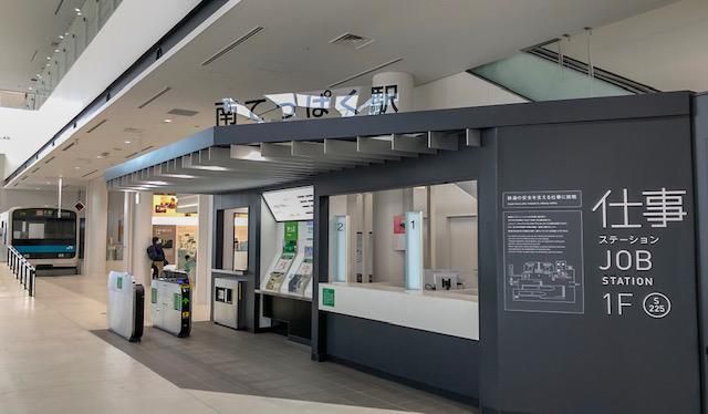 鉄道博物館・仕事ステーション(南てっぱく駅)