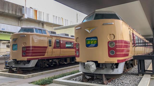 鉄道博物館・183ランチトレイン