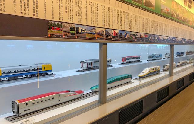 鉄道博物館・鉄道車両年表
