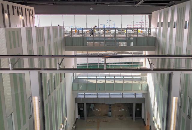 鉄道博物館・新幹線ラウンジ(3階)1
