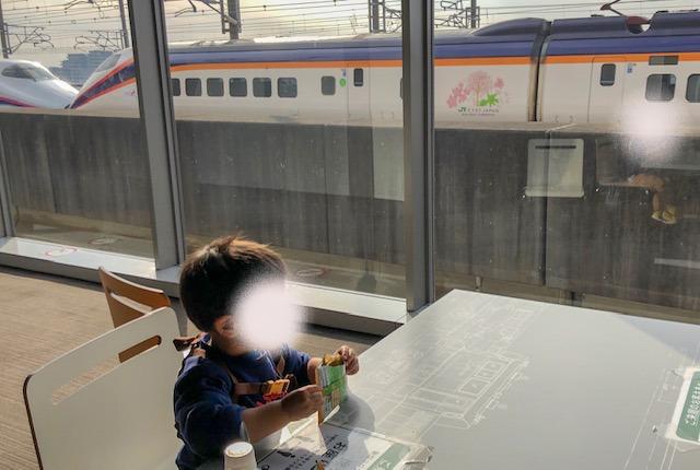 鉄道博物館・新幹線ラウンジ(3階)4