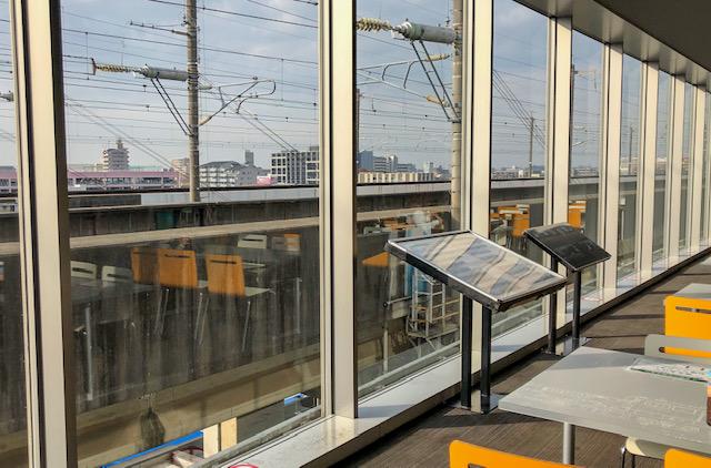 鉄道博物館・新幹線ラウンジ(3階)2