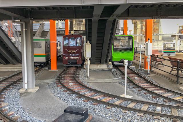 鉄道博物館・ミニ運転列車