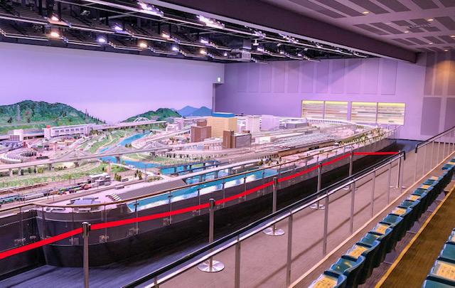 鉄道博物館・鉄道ジオラマ2